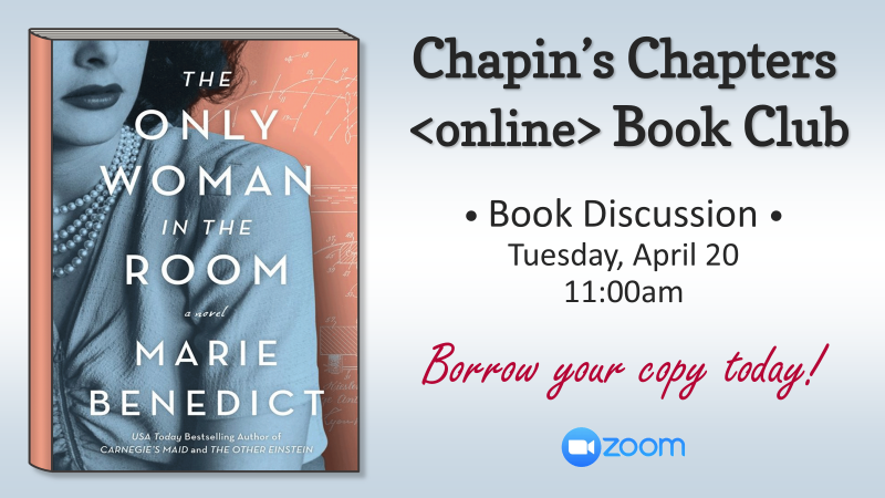 Chapins Chapters - March
