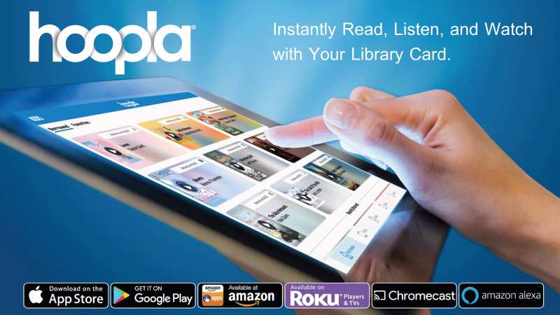 Hoopla - Download books, movies, and more.