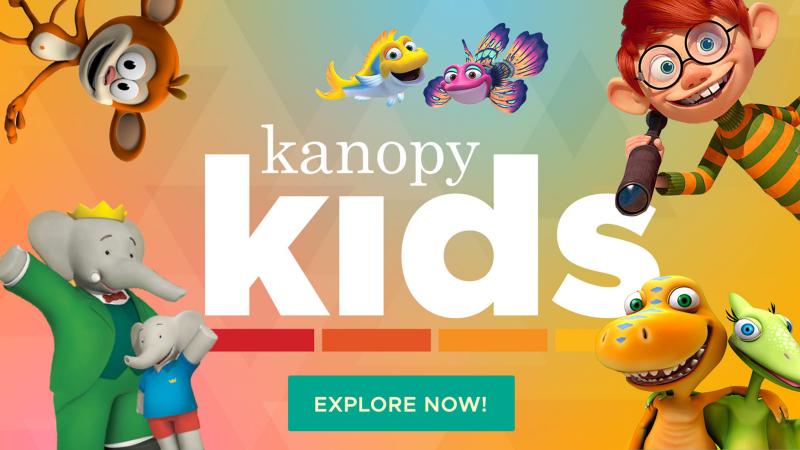 Kanopy - kids