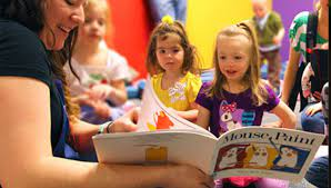 Toddler/Preschool Storytime (In-Person)